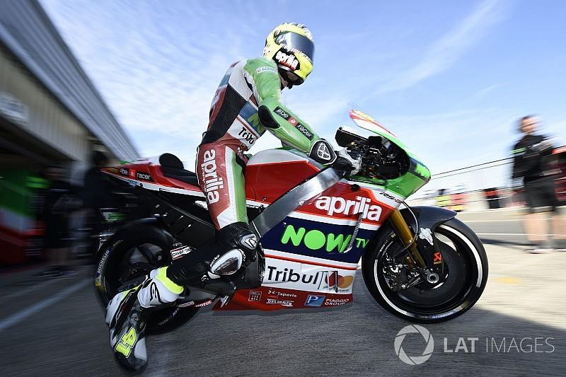 """Aprilia deve """"dar tudo"""" ou sair da MotoGP, diz Espargaro"""