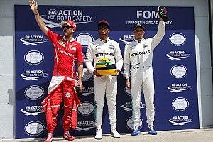 La parrilla de salida del GP de Canadá 2017 de F1