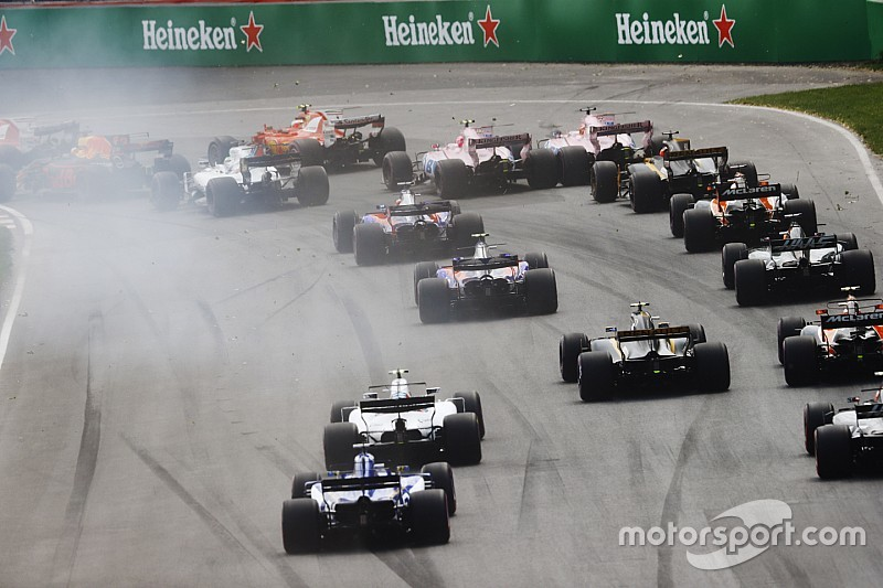 Formel 1 2017 in Montreal: Ergebnis, Rennen