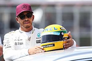 Hamilton satu-satunya pembalap selevel Senna