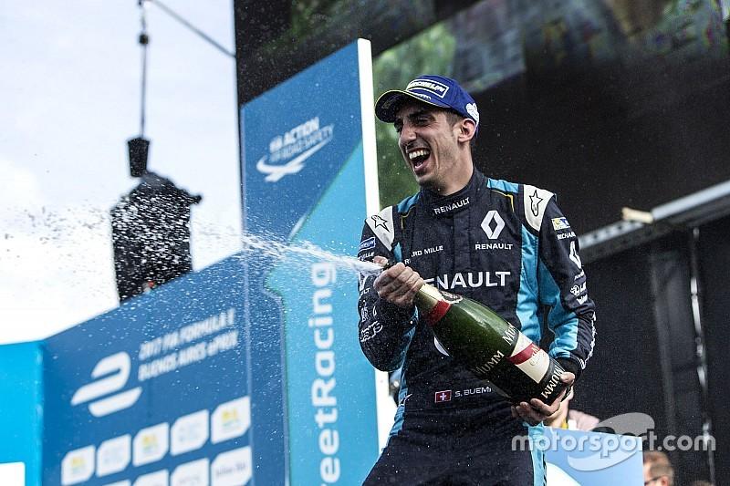 Buenos Aires ePrix: Buemi takes third Formula E win in a row
