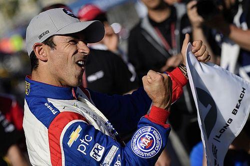Castroneves quebra recorde da pista e é pole em Long Beach