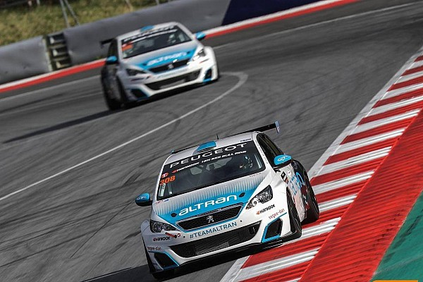 12h Red Bull Ring: doppietta del Team Altran Peugeot in TCR