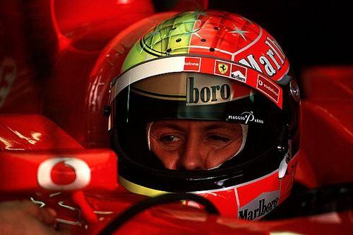 Gallery: Michael Schumacher's F1 helmets