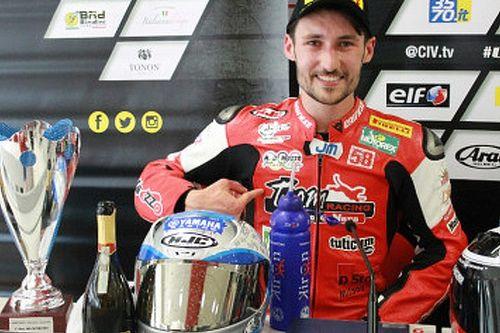 Nicola Morrentino trionfa in solitaria in Gara 1 ad Imola