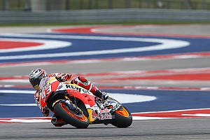 MotoGP Practice report Austin MotoGP: Marquez leads Vinales in morning warm-up