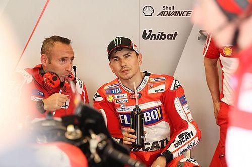 """Lorenzo: """"Soffriamo, ma il team Ducati mi sostiene tantissimo"""""""