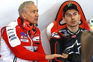 """Ducati, Tardozzi: """"Noi e Jorge abbiamo sbagliato e ci rimetteremo entrambi. Lui faticherà in Honda"""""""