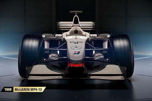 Tiga mobil McLaren lengkapi susunan mobil klasik F1 2017