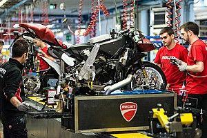 Фабрики Ducati и Aprilia возобновляют работу