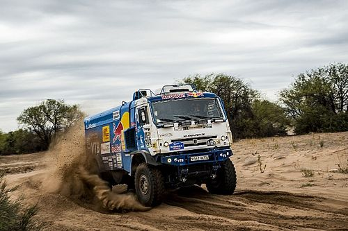 Dakar 2017, Stage 12: Nikolaev leads Kamaz 1-2 in trucks
