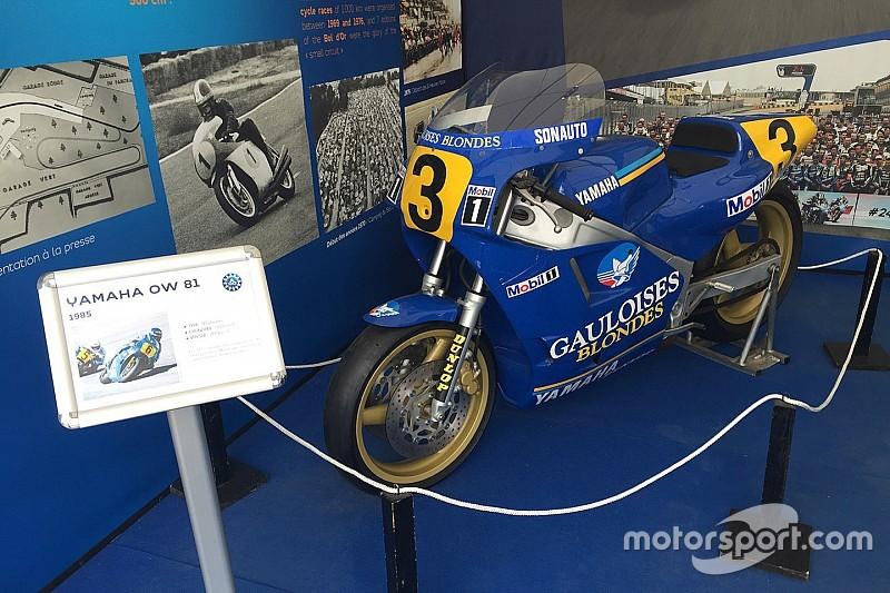 Les 500cc stars d'une exposition pendant le GP de France