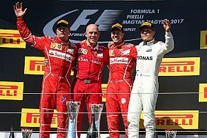 F1 Reporte de la carrera Vettel termina sequía de victorias y lidera doblete de Ferrari