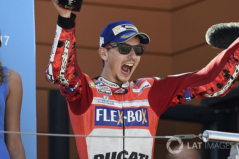 Лоренcо заявил, что его первая победа в Ducati очень близка