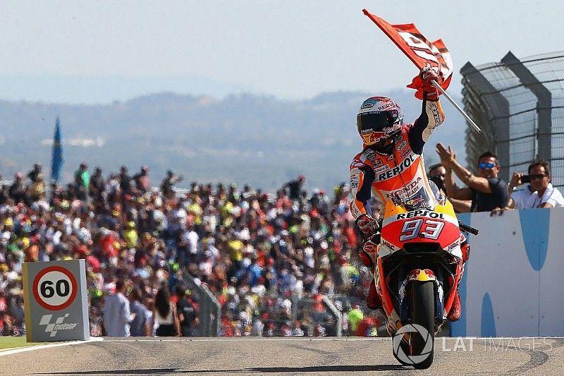 """Marquez: """"Ik was de gehele race aan het worstelen met de motor"""""""