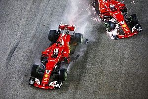 Вильнев сравнил ошибку Феттеля в Германии с аварией Ferrari на старте в Сингапуре