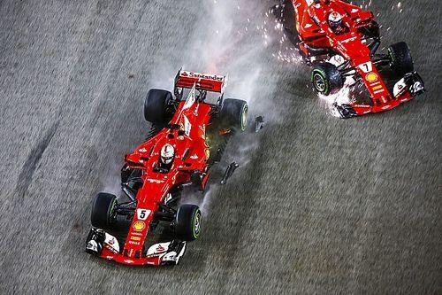 A szingapúri rajtbaleset pecsételheti meg Vettel sorsát Hamilton ellen