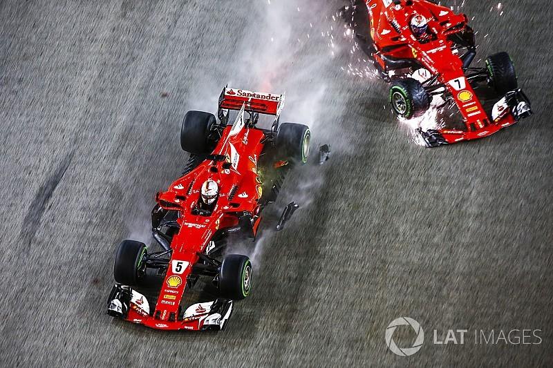 فيتيل لن يُغيّر مقاربته بعد حادثة سباق سنغافورة