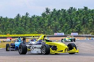 Coimbatore JK Tyre: Prasad charges from sixth to win Race 3