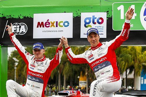 Mexico WRC: Meeke wins despite bizarre car park incident