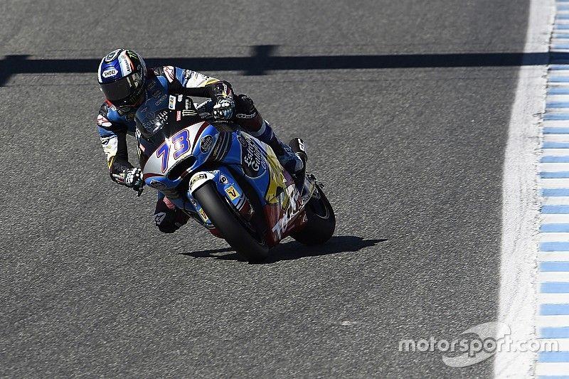 Alex Márquez, a ritmo de récord en Jerez a pesar de la fiebre