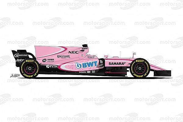 Guide F1 2017 - Force India veut voir la vie en rose