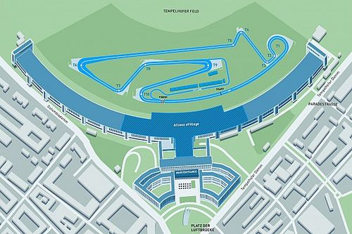 Berlin Tempelhof'un yerleşim planını açığa çıkardı
