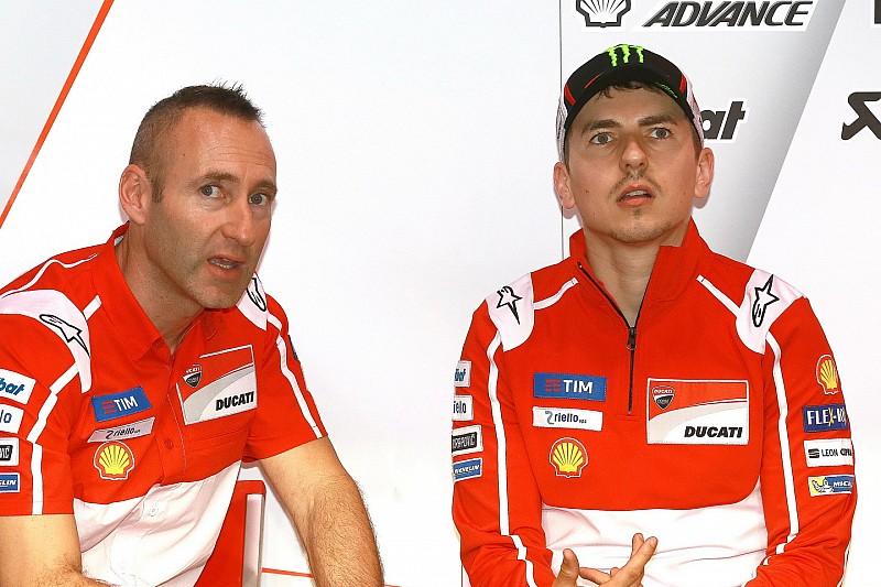 Lorenzo neemt hoofdmonteur Gabarrini niet mee naar Honda