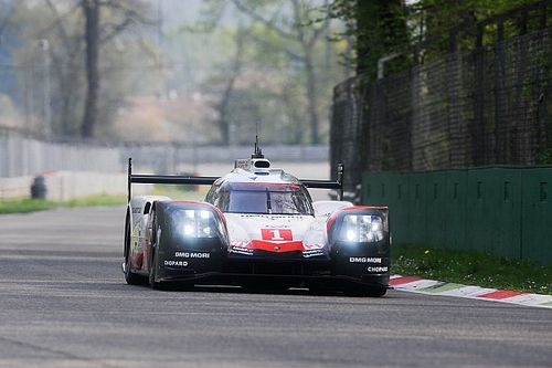 Porsche stays on top in penultimate WEC test session