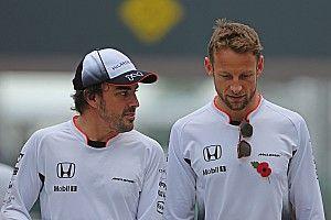 """Button: """"Alonso non bluffa quando dice di voler tornare in Formula 1"""""""