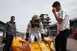 """Alonso over Indy 500-test: """"Tevreden over eerste stap"""""""