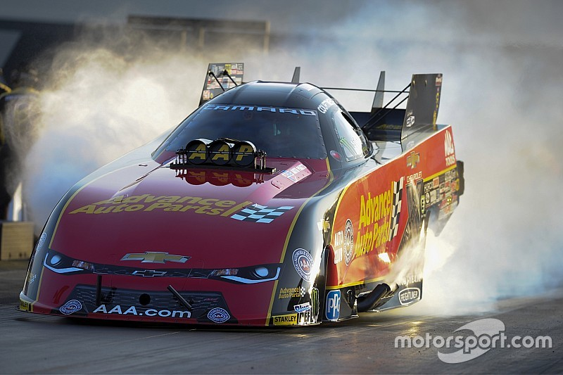 courtney force hails great test after fastest funny car run