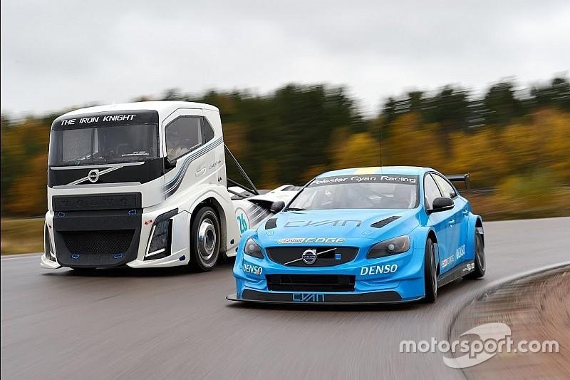 Quand un camion Volvo affronte la S60 WTCC