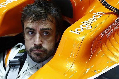Alonso alami masalah mesin di FP1