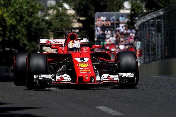 Vettel no duda que Ferrari pueda retar a Mercedes en la carrera de Bakú