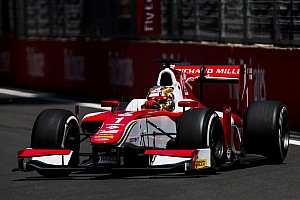 FIA F2 Qualifying report Baku F2: Leclerc grabs fourth pole in a row