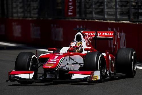 Leclerc logra en Bakú su cuarta pole consecutiva en la F2