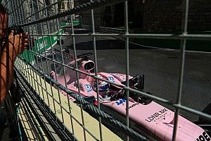 Perez wants Baku crash kerb changed overnight