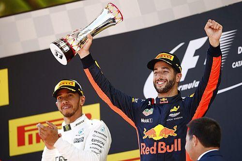 """Ricciardo: """"Jaloers dat we niet strijden om kopposities"""""""