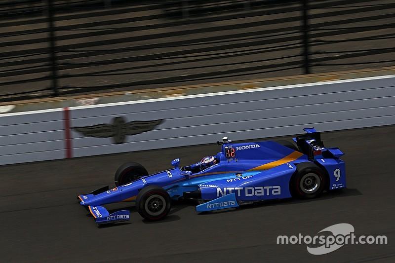 ديكسون أوّل المنطلقين في سباق إندي 500 وألونسو في المركز الخامس