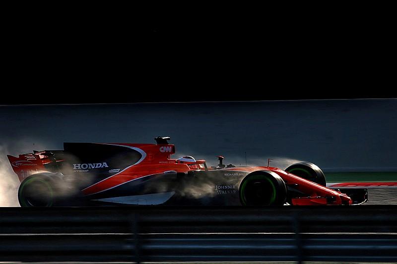【F1】バンドーン「1周ごとにマシンの特性と扱い方を学んだ」