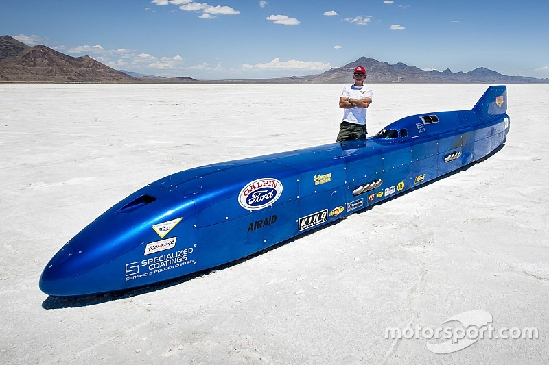 Land Speed Record >> Danny Thompson Aims For Land Speed Record