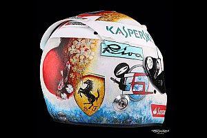 Galería: Vettel cambia también en Japón el diseño de su casco