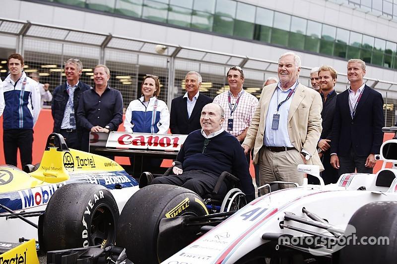 Williams разместит особые наклейки на машинах в Сильверстоуне в честь Фрэнка Уильямса