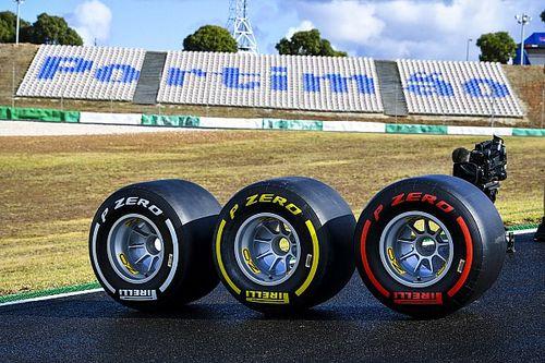 Pirelli biedt F1-teams kans om definitieve 2021-band te testen