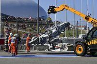 Ez a baleset vetett véget az F2 sprintfutamának - Videó