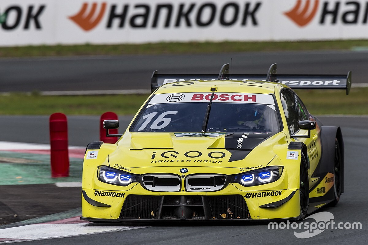 Zolder DTM: Glock scores BMW's first pole of 2020