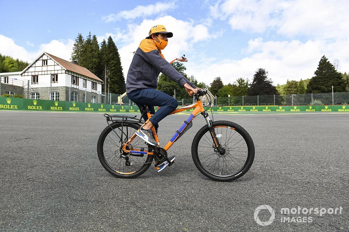 """Sainz, antes del GP de Bélgica de F1: """"No nos debería ir mal aquí"""""""