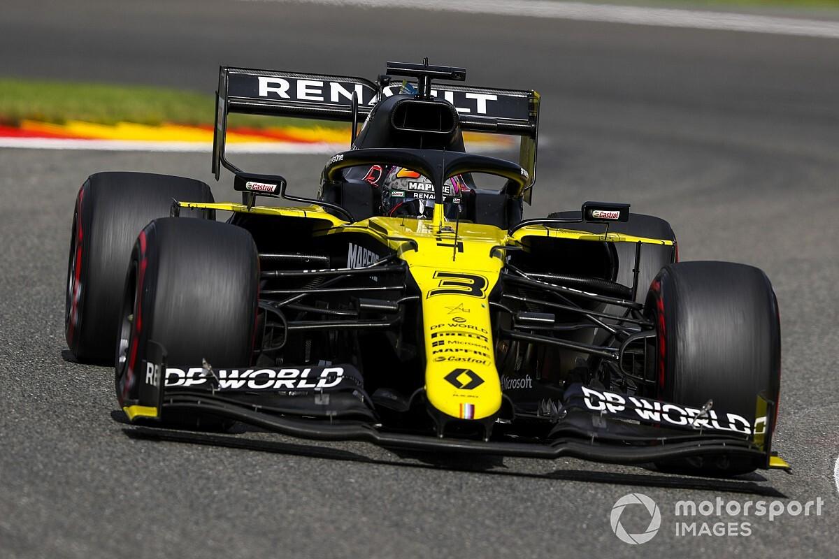 Риккардо объяснил прорыв Renault «сладким местом»
