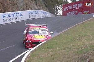 Bathurst 1000: McLaughlin crashes after going fastest